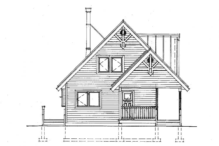 Cottage House Plan -  80651 - Front Exterior