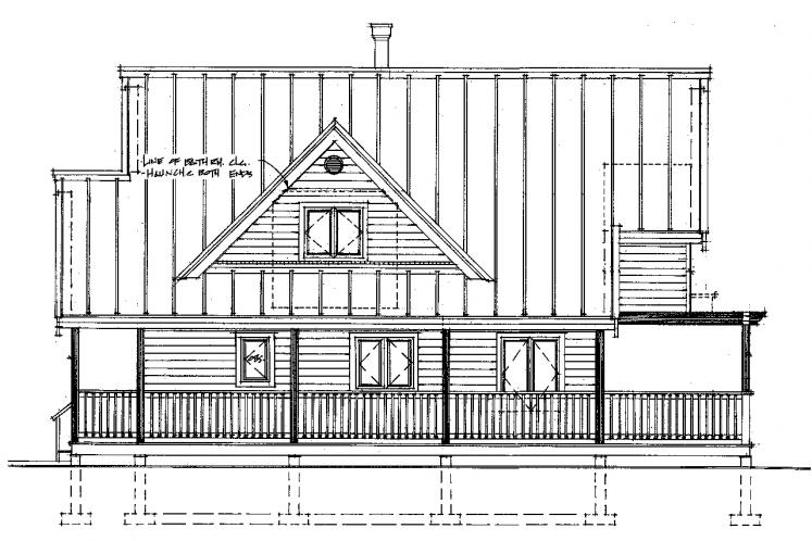 Cottage House Plan -  80651 - Right Exterior