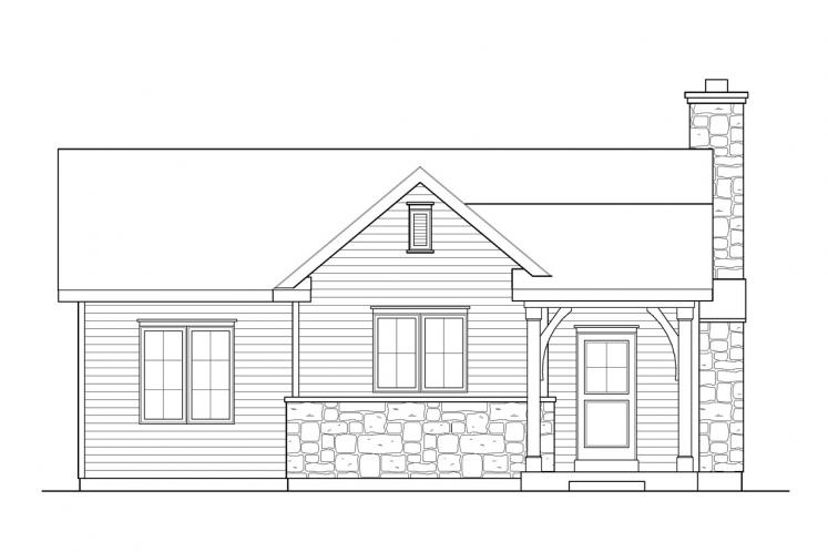 Traditional House Plan -  80802 - Front Exterior
