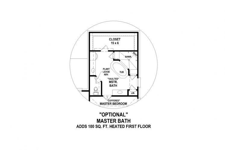 European House Plan -  81014 - Other Floor Plan