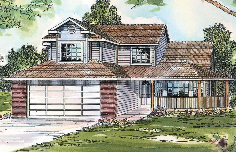 Country House Plan - Susanville 81127 - Front Exterior