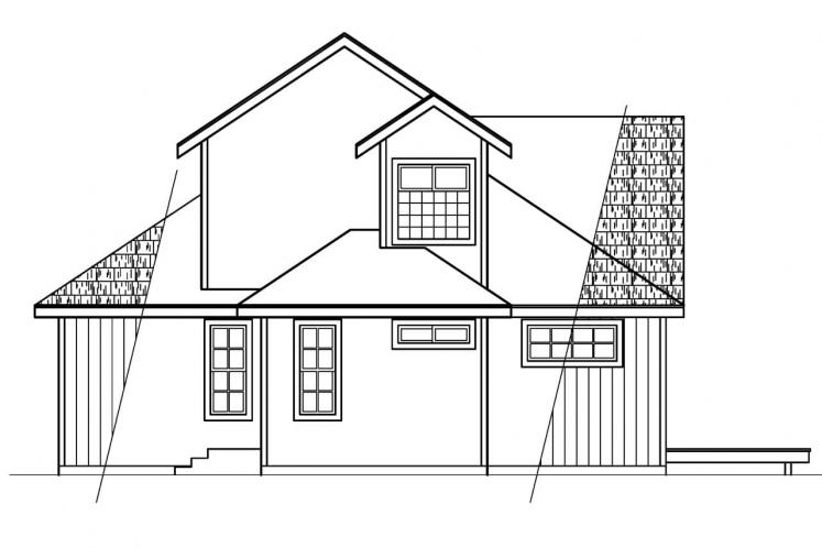 Country House Plan - Elsberry 81251 - Right Exterior