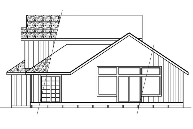Country House Plan - Elsberry 81251 - Rear Exterior