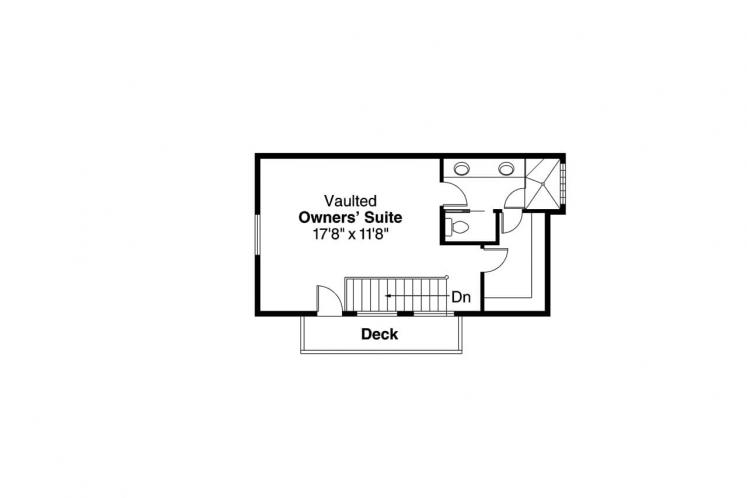 Country House Plan - Elsberry 81251 - 2nd Floor Plan