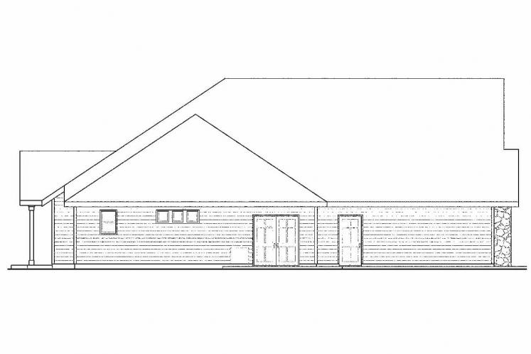 Ranch House Plan - Gladstone 81395 - Left Exterior