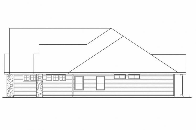 Cottage House Plan - Gladstone 81395 - Right Exterior