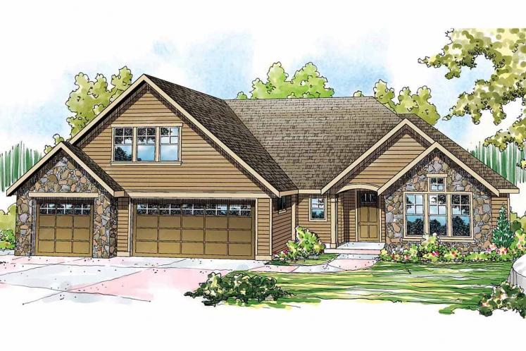 Cottage House Plan - Gladstone 81395 - Front Exterior