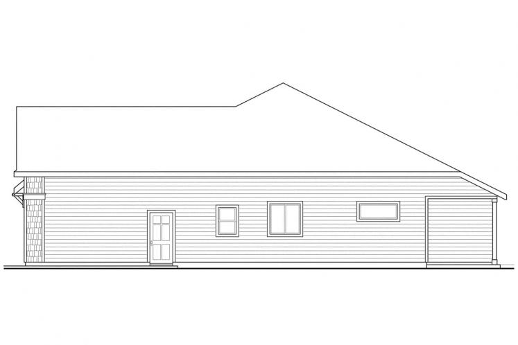 Cottage House Plan - Springbrook 81488 - Right Exterior