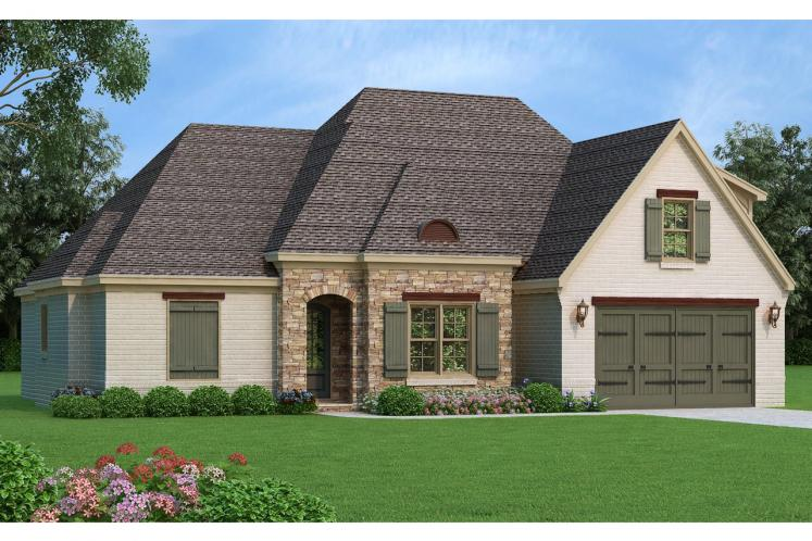 Ranch House Plan -  81504 - Front Exterior