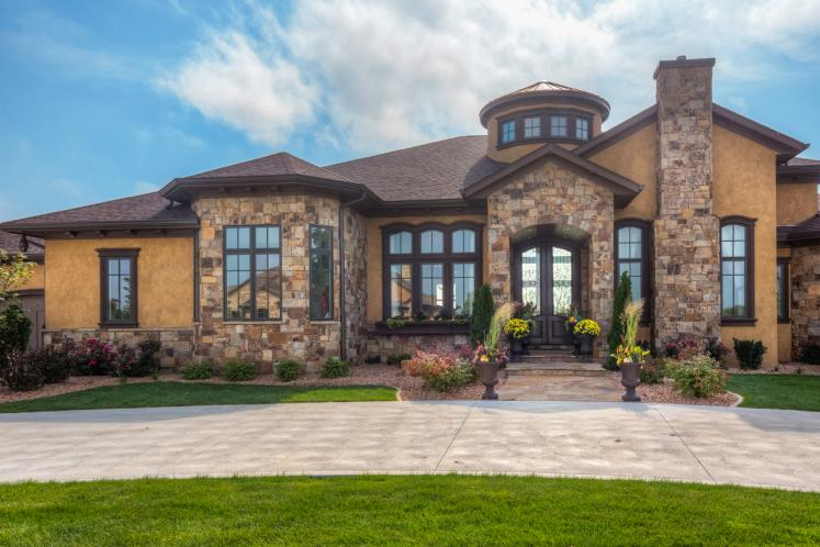 Tuscan House Plan -  81727 - Front Exterior