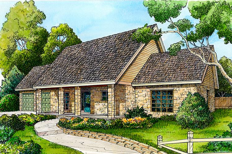 Ranch House Plan -  81939 - Front Exterior