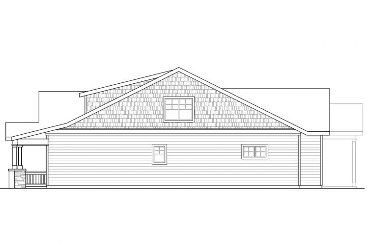 Cottage House Plan - Nantucket 81952 - Right Exterior