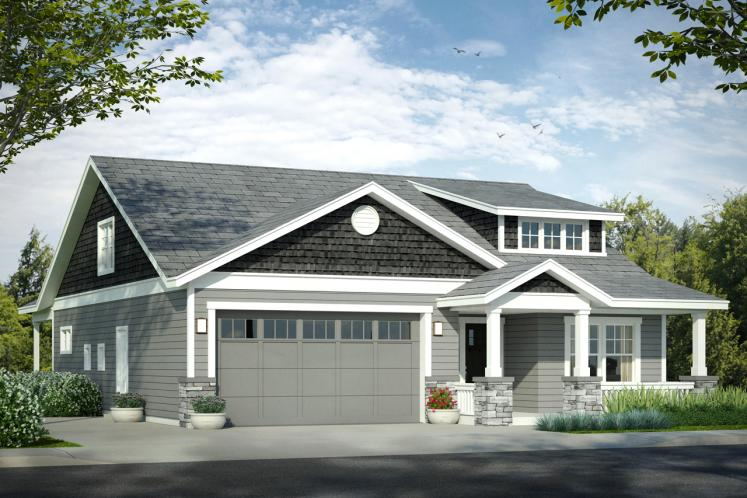Cottage House Plan - Nantucket 81952 - Front Exterior