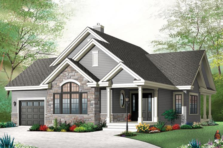 Country House Plan - Maitland 3 81988 - Front Exterior