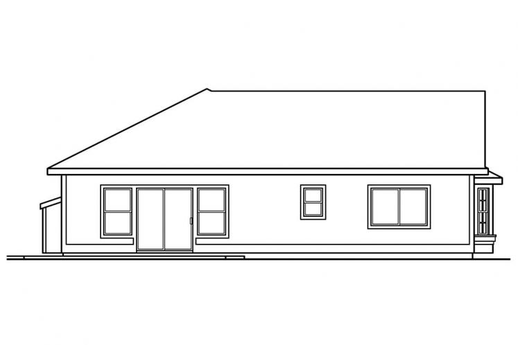 Country House Plan - Corinth 82067 - Left Exterior