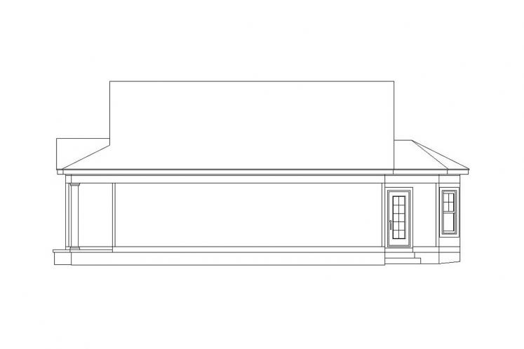 Cottage House Plan -  82144 - Right Exterior