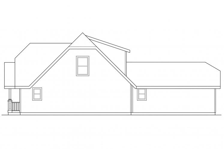 Cottage House Plan - Lawrence 82155 - Right Exterior