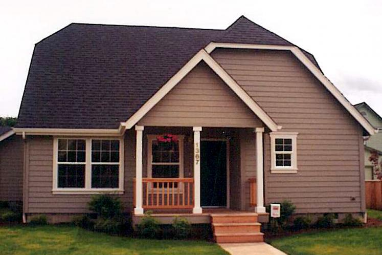 Cottage House Plan - Lawrence 82155 - Front Exterior