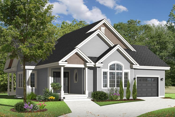 Ranch House Plan - Maitland 2 82310 - Front Exterior
