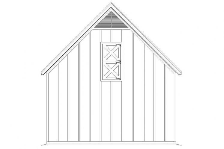Farmhouse  - Barn 82644 - Left Exterior