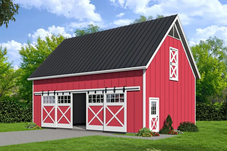 Farmhouse  - Barn 82644 - Front Exterior