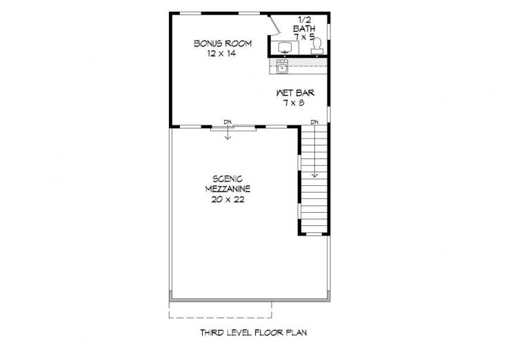 Contemporary House Plan - Cannon 82788 - Other Floor Plan