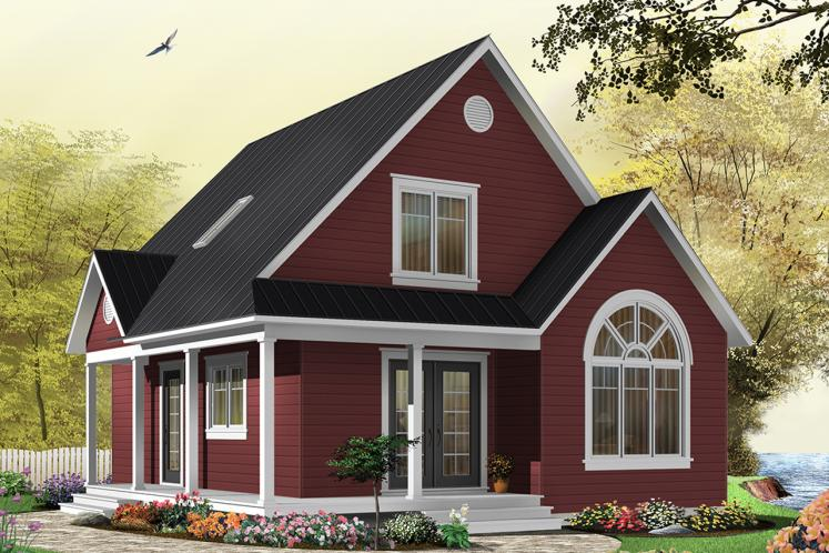 Cottage House Plan - Celeste 82871 - Front Exterior