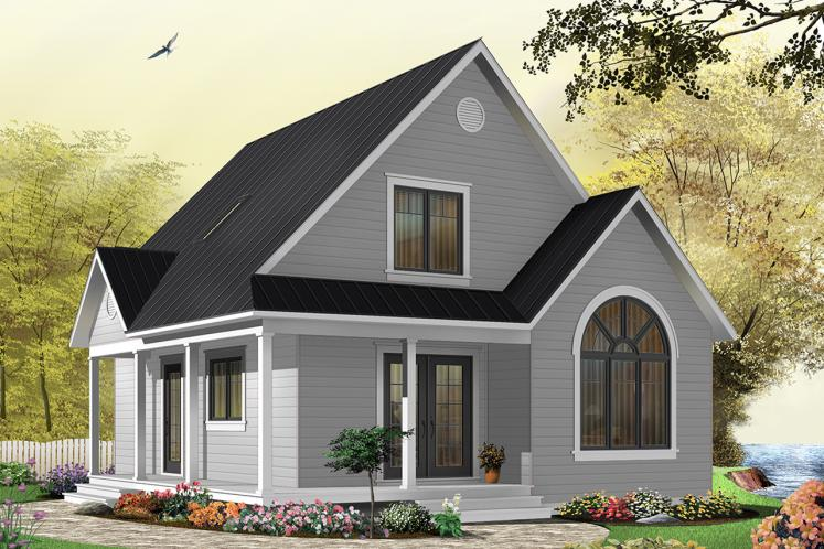 Country House Plan - Celeste 82871 - Front Exterior