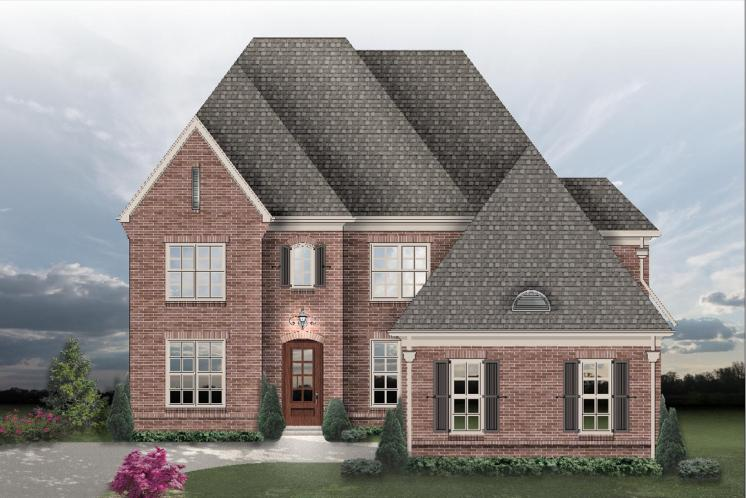 Traditional House Plan -  82890 - Front Exterior