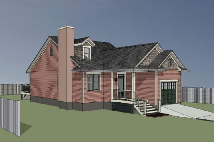 Cottage House Plan -  83018 - Exterior