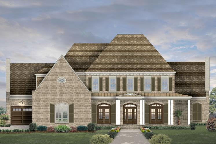 European House Plan -  83236 - Front Exterior