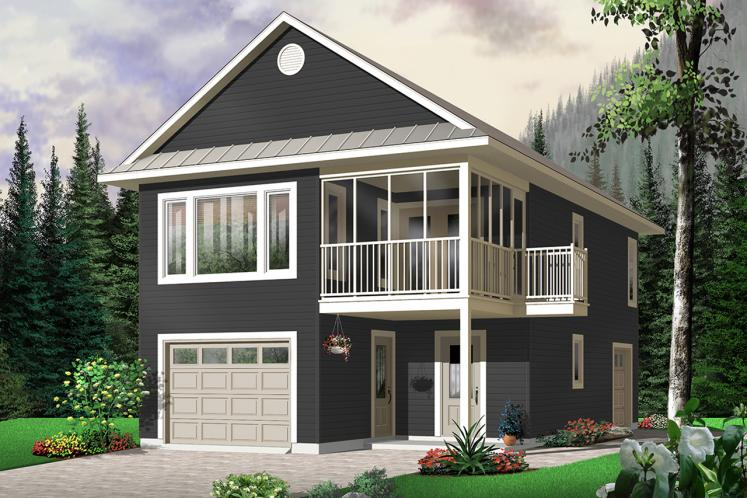 Traditional House Plan - The Murphy 83296 - Front Exterior