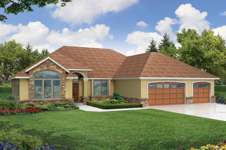 Contemporary House Plan - Palermo 83372 - Front Exterior