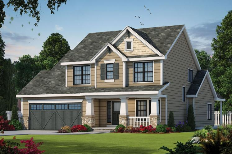 Country House Plan - Hepburn 83619 - Front Exterior
