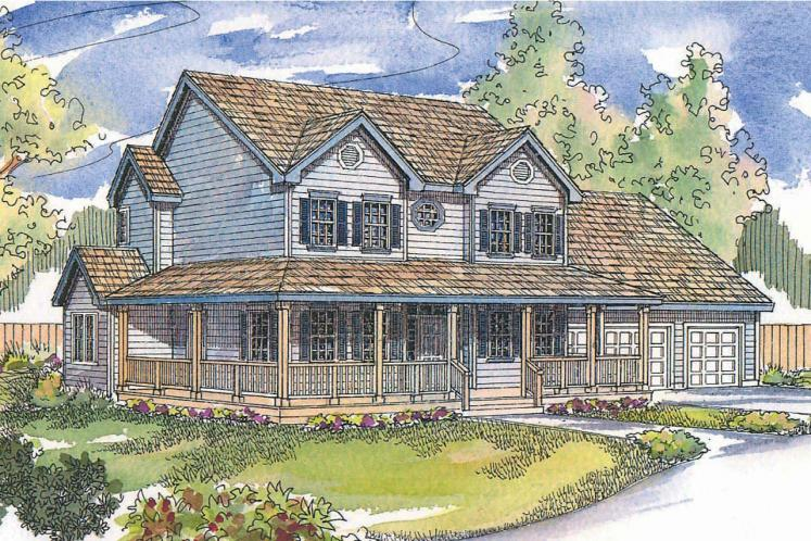 Country House Plan - Gifford 83627 - Front Exterior