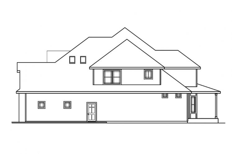European House Plan - Hastings 83726 - Right Exterior