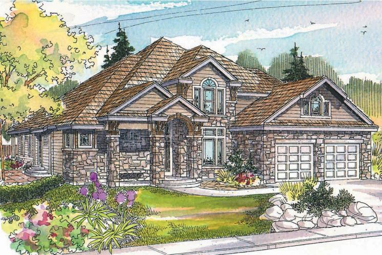 European House Plan - Hastings 83726 - Front Exterior