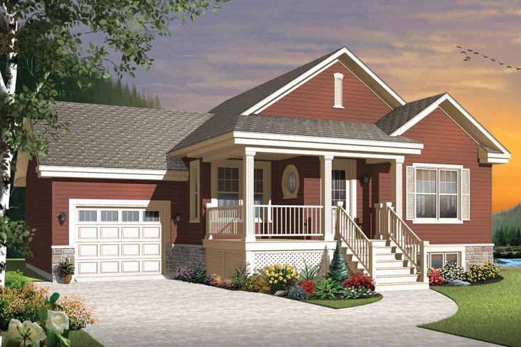 Country House Plan - Larkspur 2 84035 - Front Exterior