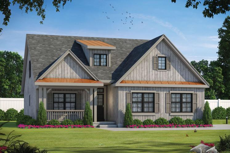 Country House Plan - Cedar Farm 84316 - Front Exterior