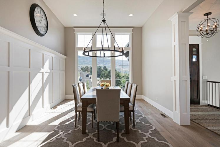 European House Plan - Black Horse Falls 84398 - Dining Room