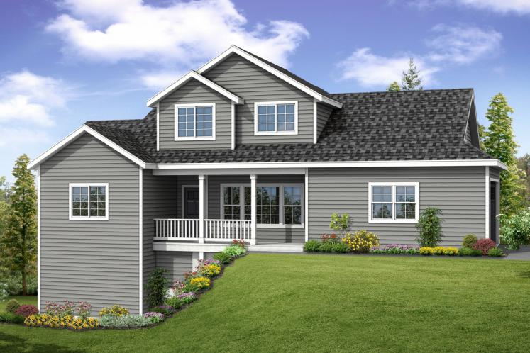 Country House Plan - Farmington 84654 - Front Exterior