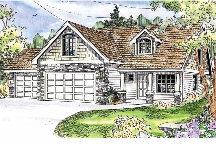 Country House Plan - Eastham 84905 - Front Exterior