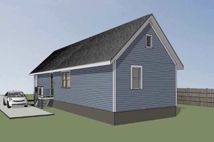 Cottage House Plan -  84931 - Right Exterior
