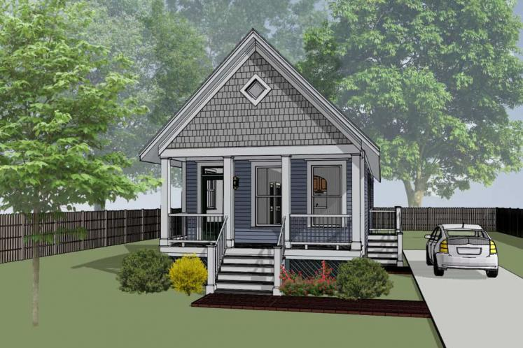 Cottage House Plan -  84931 - Front Exterior