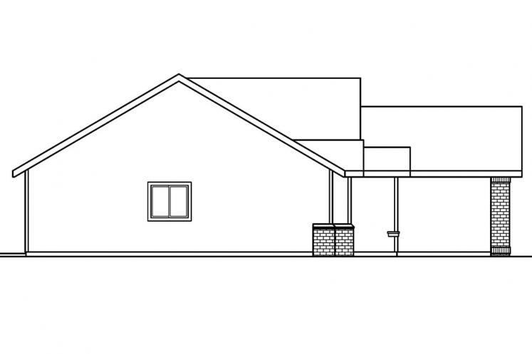 Traditional House Plan - Lamont 84985 - Left Exterior
