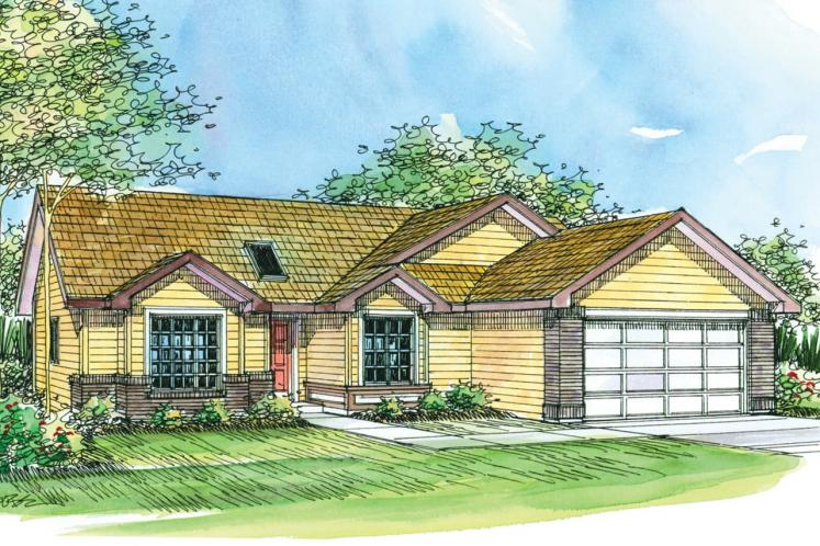 Ranch House Plan - Lamont 84985 - Front Exterior