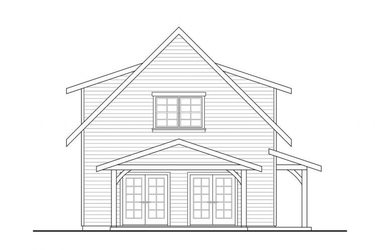 Craftsman House Plan - Bayberry Cottage 85054 - Left Exterior