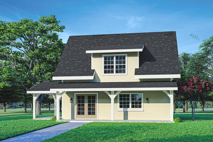 Cottage House Plan - Bayberry Cottage 85054 - Front Exterior