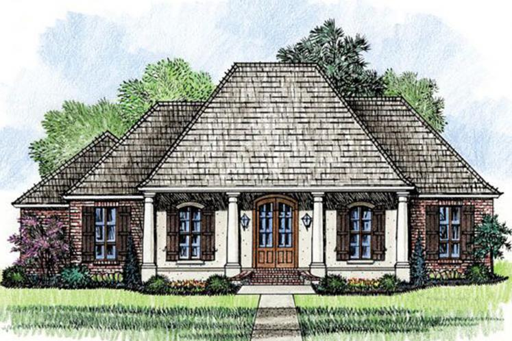 Classic House Plan - Mayberry 85157 - Front Exterior