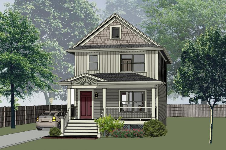 Country House Plan -  85621 - Front Exterior